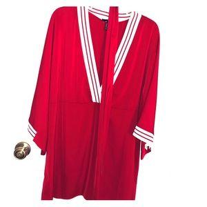 Dresses & Skirts - Red kimono dress. NWT.